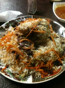 Qabli Pulao - the signature dish of Afghanistan.